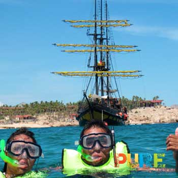 Cabo Pirate Boat Snorkeling