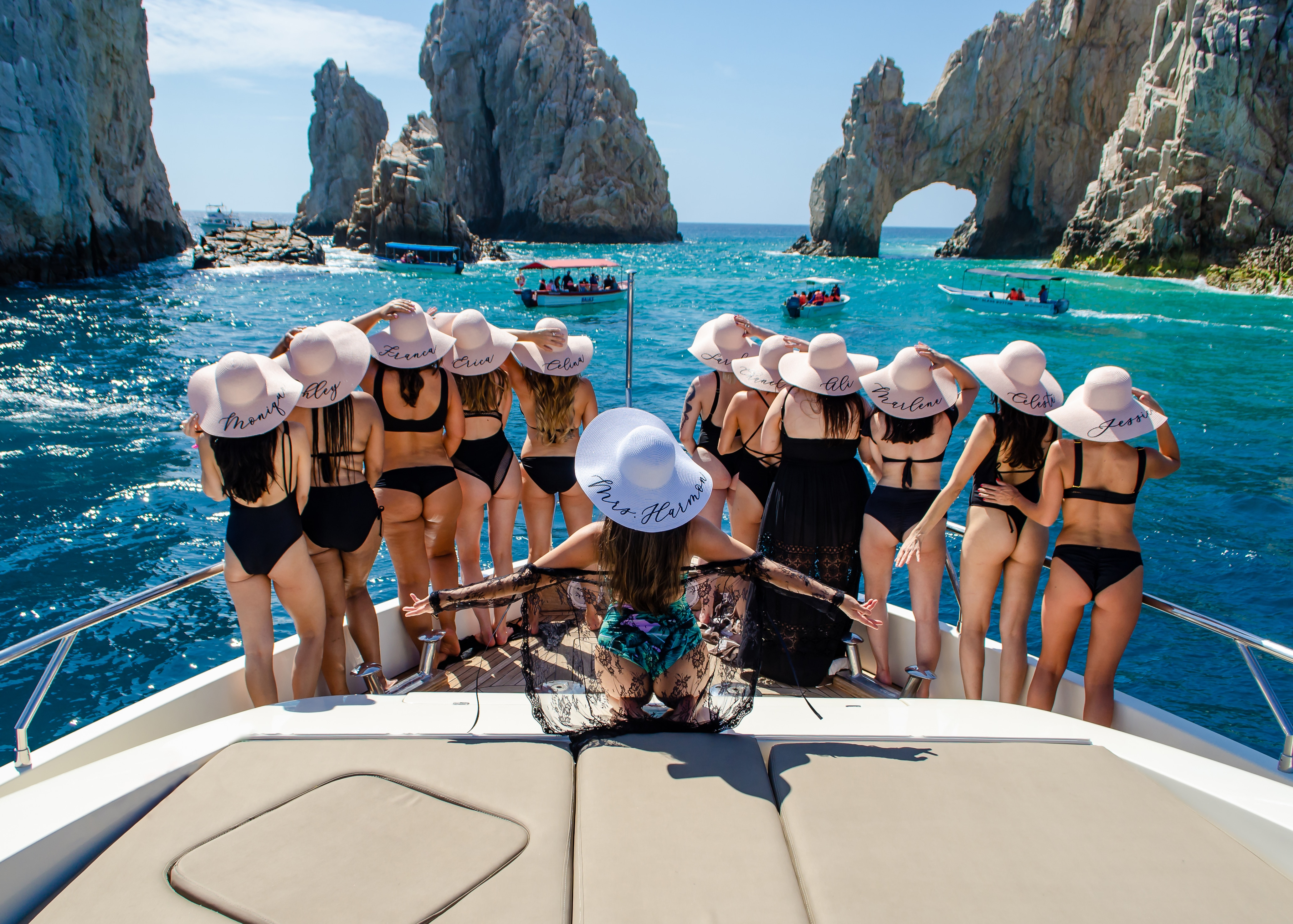 Private Yacht Bachelorette Party in Cabo
