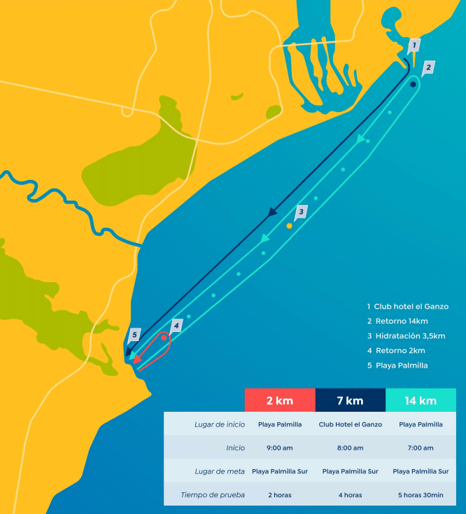 Los Cabos Open Water Challenge Route
