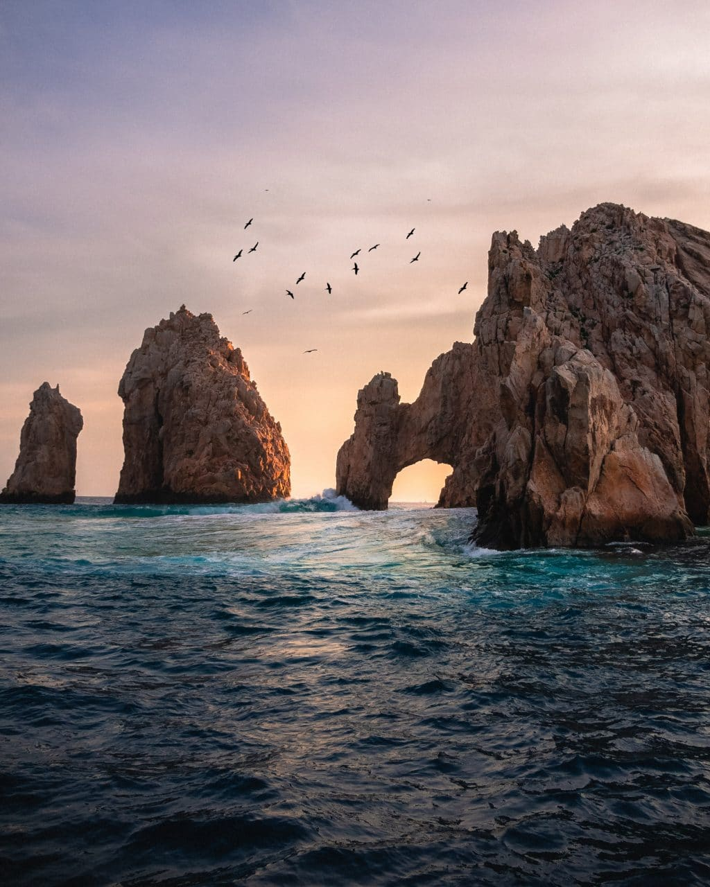 El Arco del Cabo San Lucas at Sunset