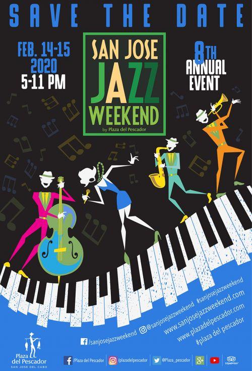 San Jose Jazz Weekend Poster