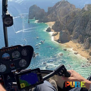 Helicopter Ride Cabo